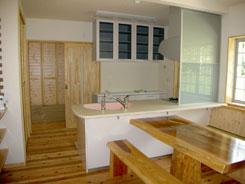新築キッチン2